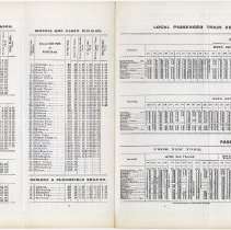 Image of Timetable: D.L.& W. R.R., Suburban Trains. May 19, 1901. Facsimile reprint. - Timetable