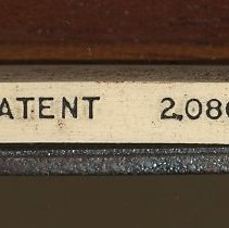 Image of detail cursor, patent number