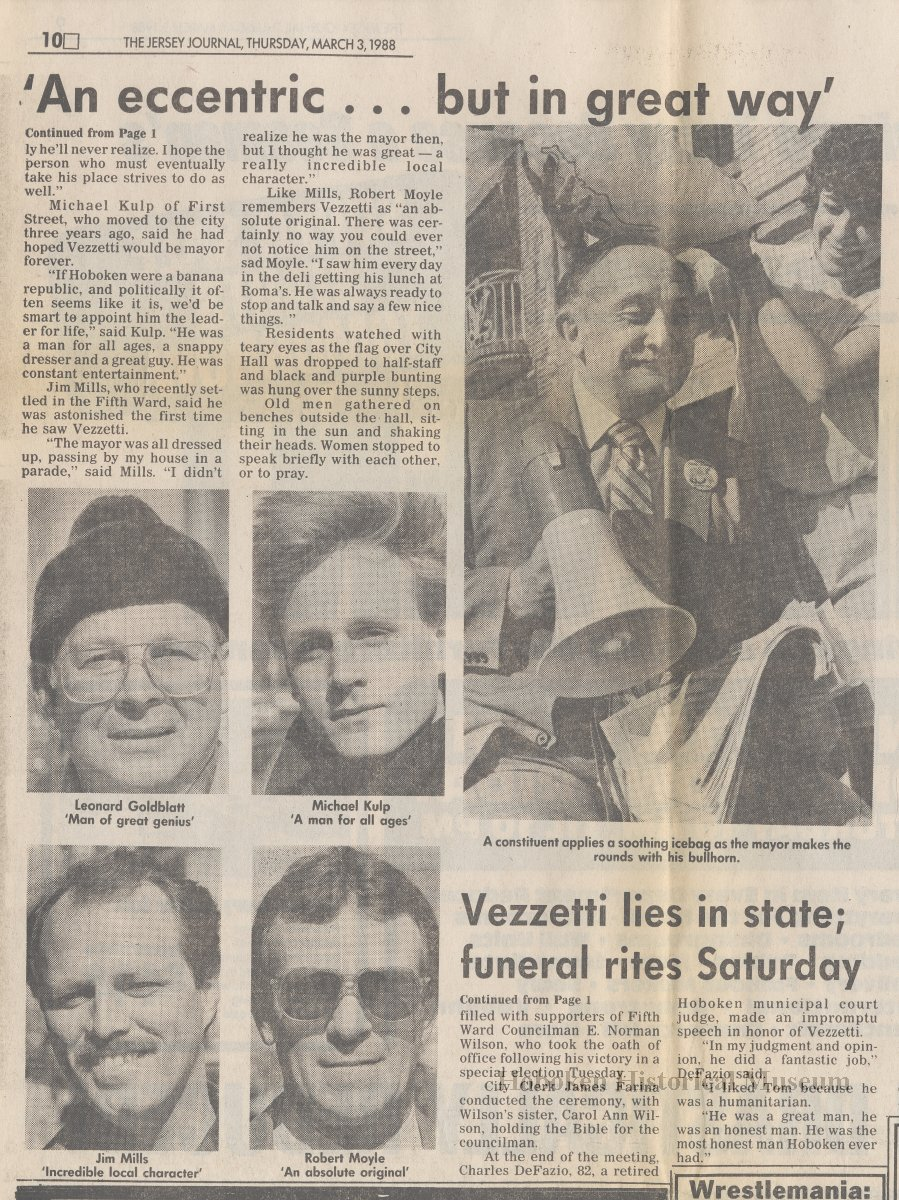 articles from the jersey journal 3 1988 obituary of title