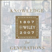 Image of Knowledge for Generations: Wiley and the Global Publishing Industry. - Book