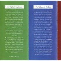Image of Brochure: A tour of Stevens' proposal for Hoboken's waterfront. Stevens Institute, ca. 2002-2002. - Brochure