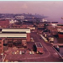 Image of Digital images, 7, of the Bethlehem Steel Hoboken Shipyard, circa 1975-1982. - Print, Photographic