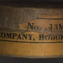 Image of side view 1 of 2: company name & Hoboken, N.J.