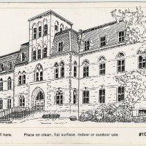 Image of Postcard: [Stevens Hall.] Stevens Institute of Technology, (Hoboken, N.J.), n.d, ca. 1980-1990. - Postcard