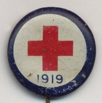 Image of Button: [American Red Cross], 1919. - Pin