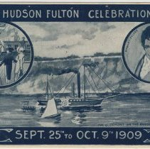Image of Postcards, 2: Hudson Fulton Celebration. Sept. 25th to Oct. 9th 1909. - Postcard