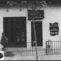 Image of photo of facade with Vale restaurant signage