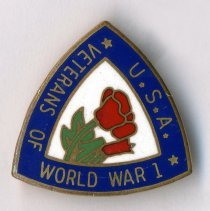Image of Pin: Veterans of World War I, U.S.A.
