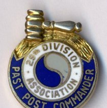 Image of Pin: 29th Division Association, Past Post Commander.