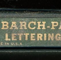Image of box end with printed label