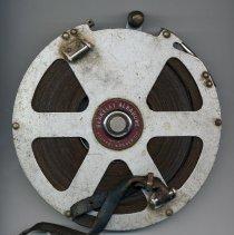 Image of Berkeley Albadure Engineers' Steel Tape measure, 100 ft. open reel, made by Keuffel & Esser Co., (Hoboken), n.d., ca. 1955-1965. - Measure, Tape