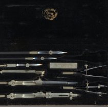 Image of instruments in case