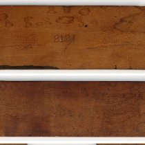 Image of details of markings, enhanced: 2121; 2120; 2110