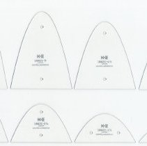 Image of set of 8 parabolas