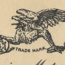 Image of detail griffing trademark