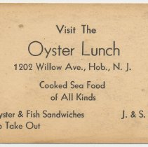 Image of Oyster Lunch; copy 1