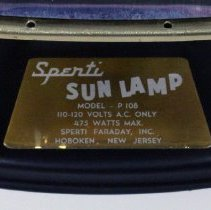 Image of detail manufacturer's label