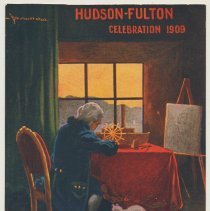 Image of 5: Fulton in his studio; The Clermont