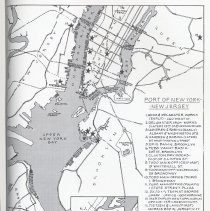 Image of pg 201 map Todd operations Port of New York