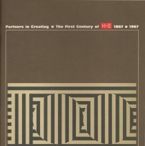 Image of Partners in Creating. The First Century of K+E 1867/1967. - Pamphlet