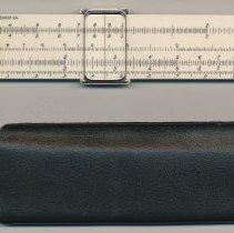 """Image of Slide rule, 5"""" pocket, model 4150-1 made by Keuffel & Esser Co., n.d., ca. late 1940s to 1960. - Rule, Slide"""