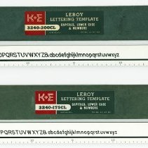Image of Leroy templates 3240-175CL, 3240-200CL