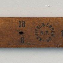 Image of detail manufacturer's mark