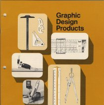 Image of Catalog: Graphic Design Products. Keuffel & Esser Co., no place (Morristown, N.J.). Copyright 1972 . - Catalog
