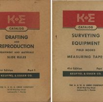 Image of Catalog of Keuffel & Esser Co., New York; 41st edition, in two parts. Oct.-Dec., 1949. - Catalog