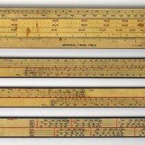 Image of Slide rule: Graphical Firing Table, made by Keuffel & Esser Company, (Hoboken, N.J.), April 1942. - Rule, Slide