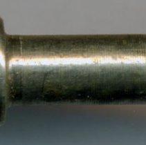 Image of detail of maker's mark on pen head
