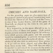 Image of pg 666 article: Cricket and Base-ball