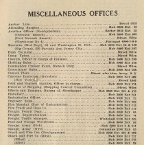 Image of pg 115: Miscellaneous Offices