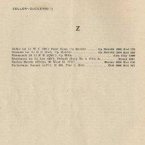 Image of pg 40: Zeller - Zuckerman [end Part I, alphabetical listings]