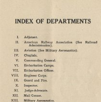Image of pg 43: Index of Departments
