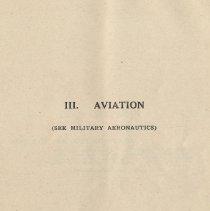 Image of pg [53]: III. Aviation