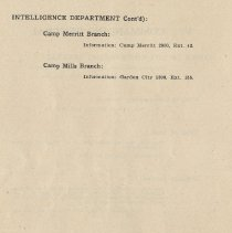 Image of pg 58: Intelligence Department