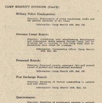 Image of pg 60: Camp Merritt Division