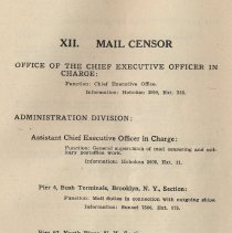 Image of pg 73: XII. Mail Censor