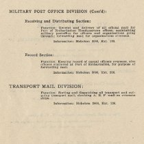 Image of pg 74: Military Post Office Division