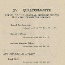 Image of pg 85: XV. Quartermaster