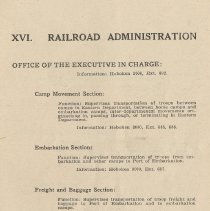 Image of pg 95: XVI. Railroad Administration