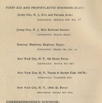 Image of pg 106: First Aid and Prophlylactic Stations