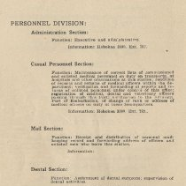 Image of pg 110: Personnel Division