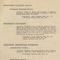 Image of pg 111: Personnel Division