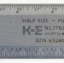 Image of detail of maker's marks
