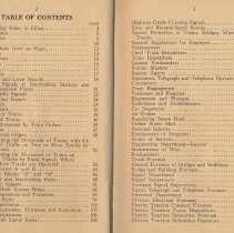 Image of pp 2-3: table of contents