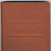 Image of Book: K&E Mining Transit Book 363A. Made by Keuffel & Esser Co., (N.Y.), used 1935-1936. - Book