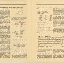 Image of Vol 1, No 4, pp [2-3]: Trigonometry and the Slide Rule