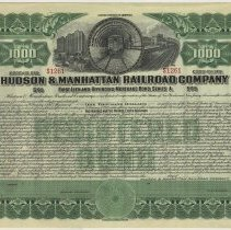 Image of bond certificate, unadjusted
